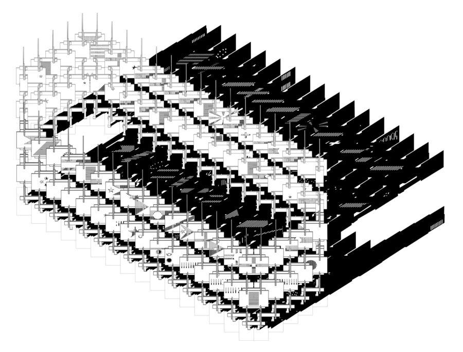 H:WorkHOF ImagesAcadAxo Model (1)